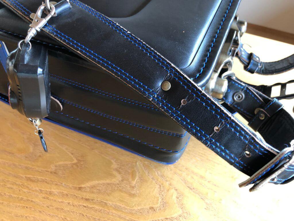 鞄工房山本ランドセル肩ベルトのシワ
