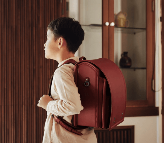 ディープレッド-–-土屋鞄のランドセル